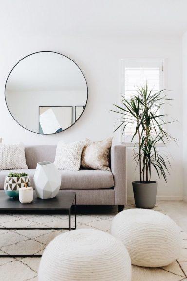 mirror design for living room