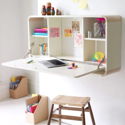 wall mounted study table for kids