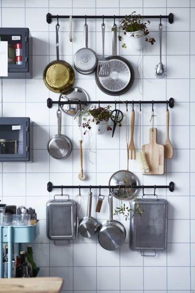 kitchen rail design ideas