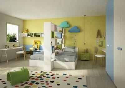 shared kids bedroom designs