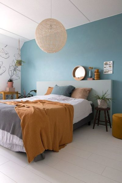 relaxing colours for bedroom design