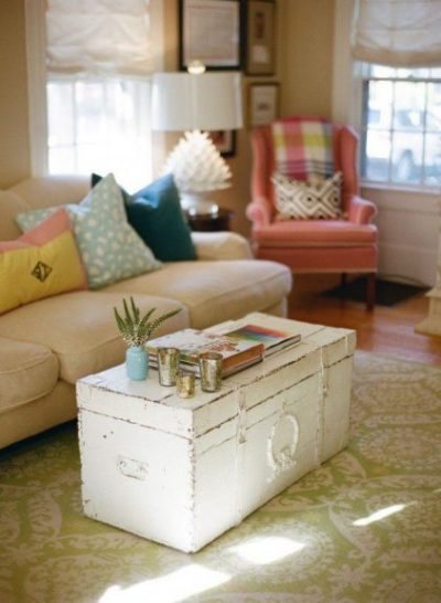 old trunks recycling ideas