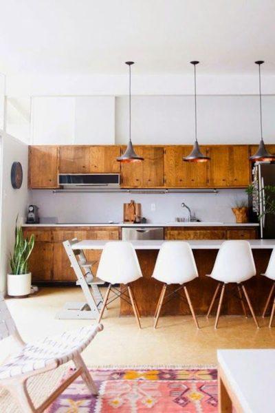 plywood kitchen design