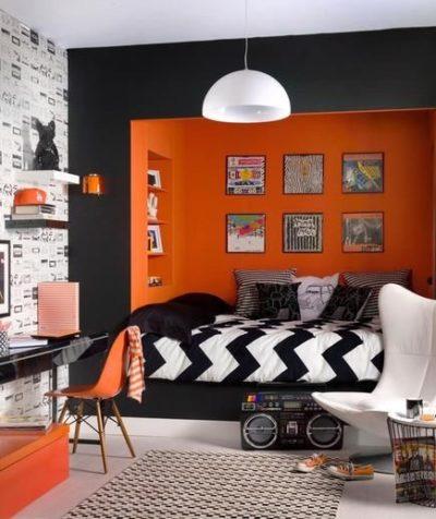 warm bedroom color shades for good sleep