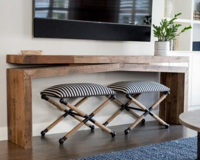 console table for TV