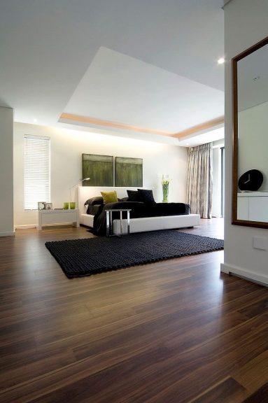 wooden flooring bedroom