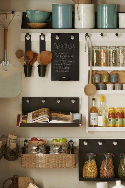 cabinet top storage