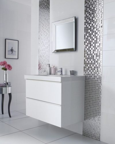 mosaic tiles for bathroom walls