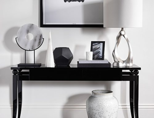 5 ways to style a console table