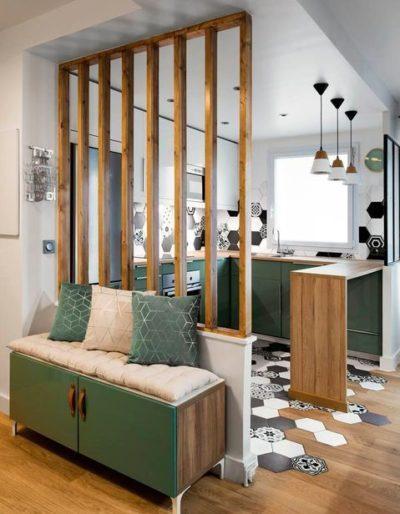 kitchen partition ideas for studio apartment