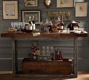 home bar trolley