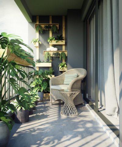 balcony sofa fabric