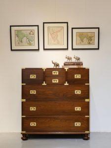 teak wood drawers