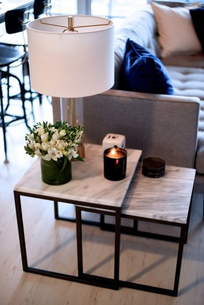 candle decor ideas for centre table