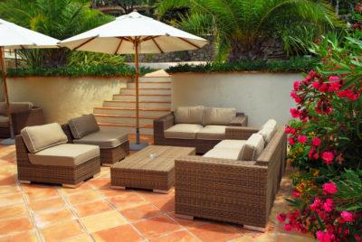 terracota surface tiles for garden