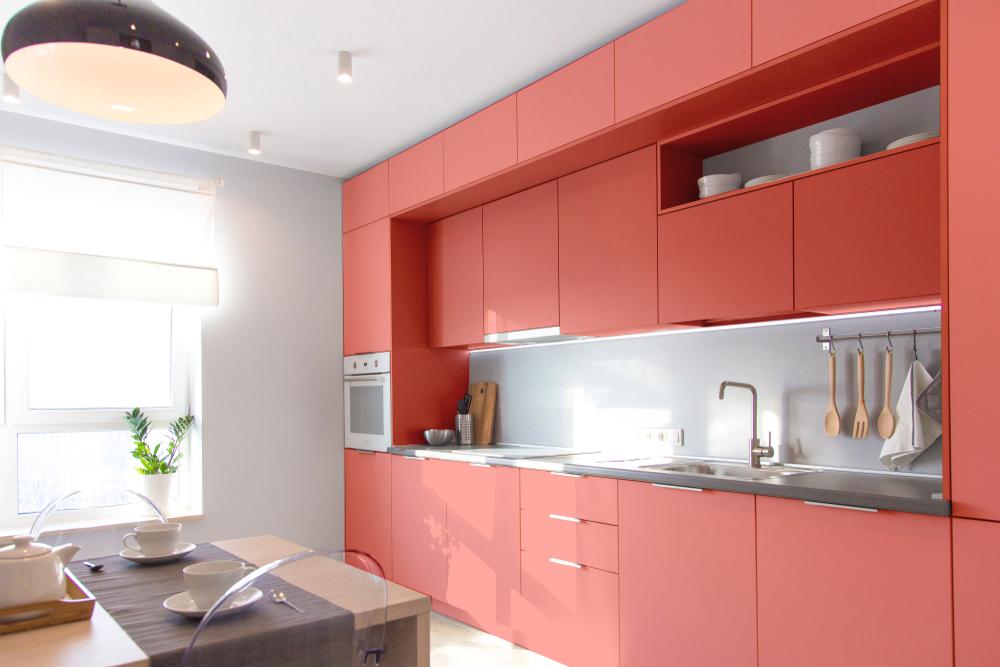 coral kitchen interiors