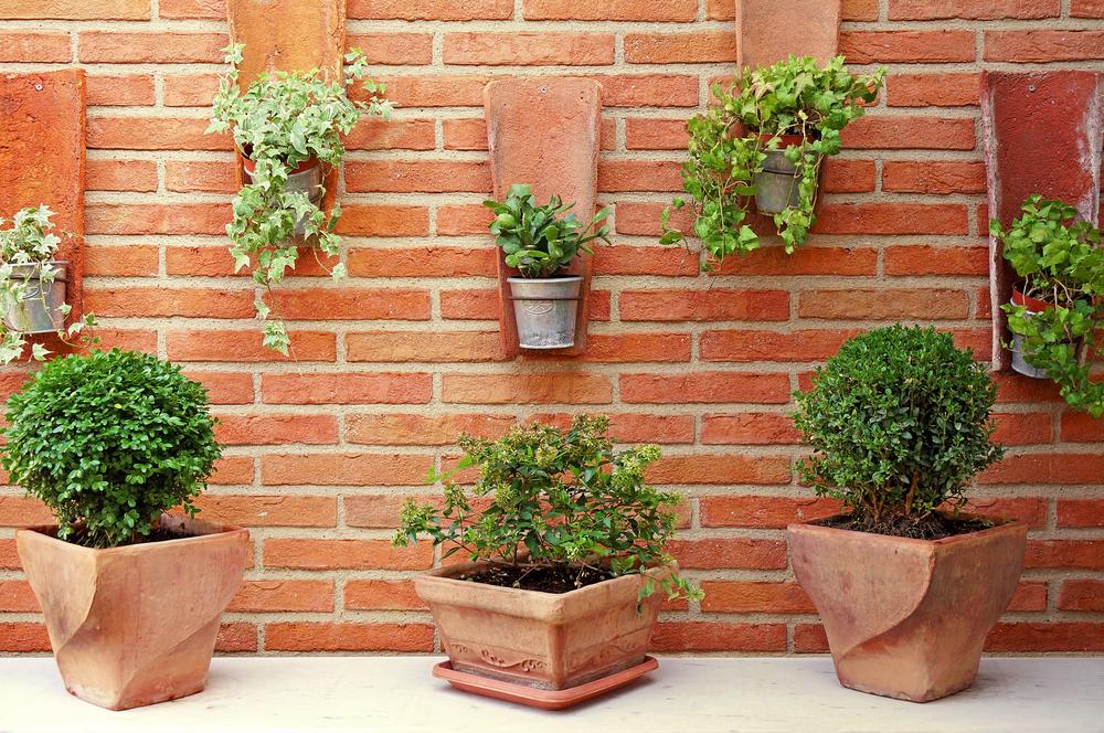 terracota pots for home interiors