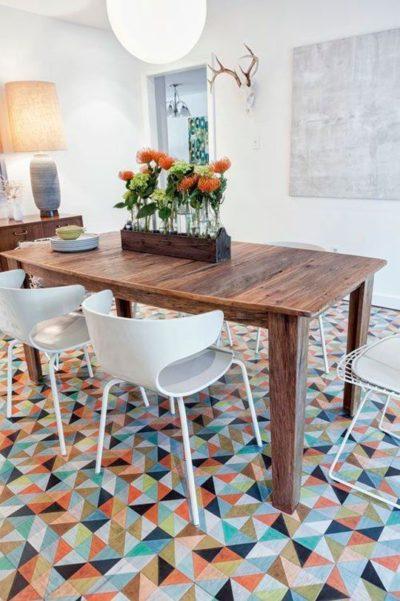geometrical tile designs