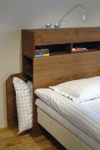 headboard storage bed designs
