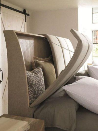 beds with headboard storage