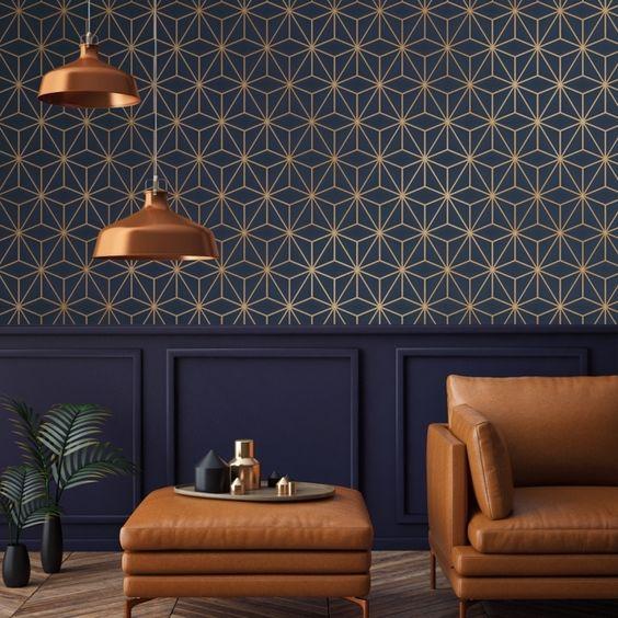 Blue home interior design