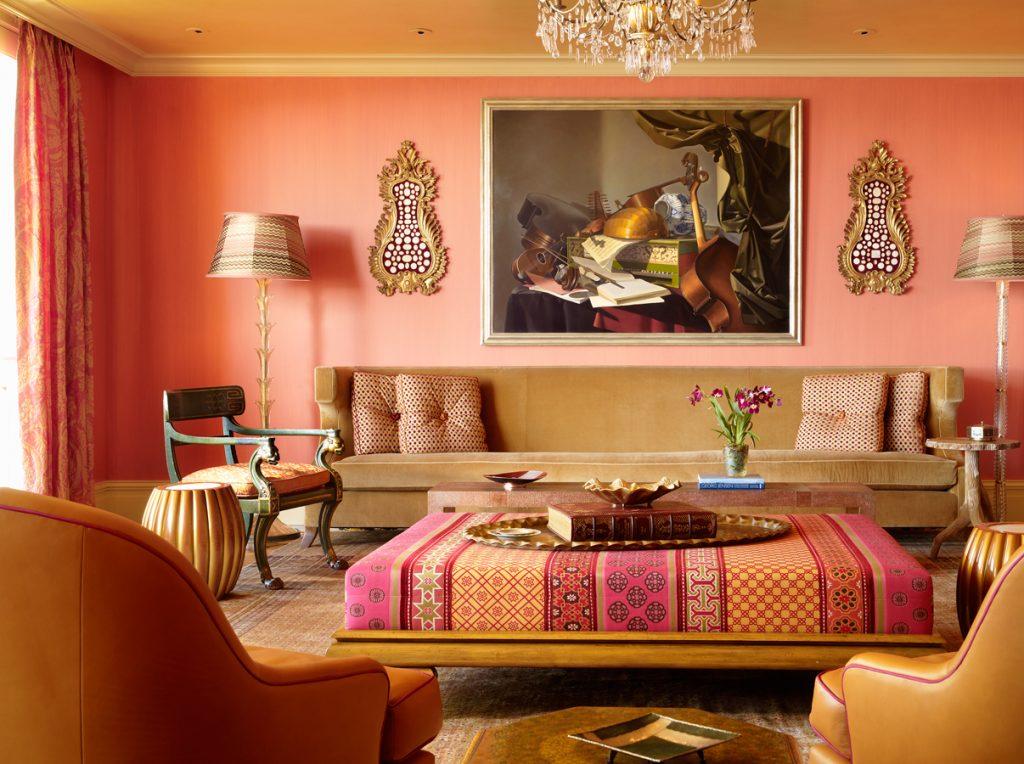 ethnic print home decor