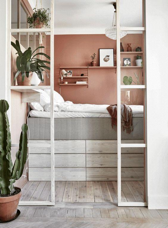 small bedroom interior design idea to make look big