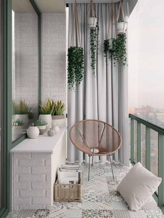 big balcony design
