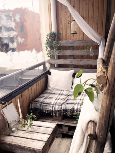 boheiman balcony design