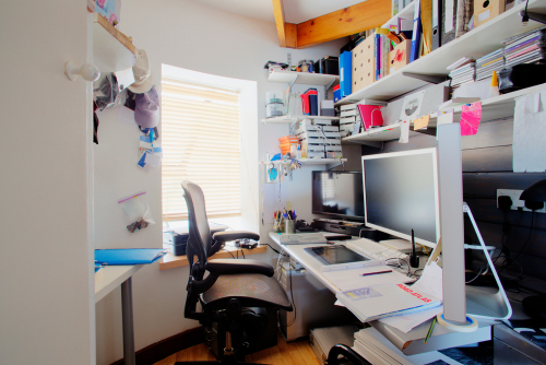 cramped home offices