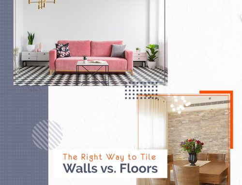 The Right Way to Tile – Walls vs. Floors