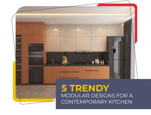 5 Trendy Modular Designs for a Contemporary Kitchen