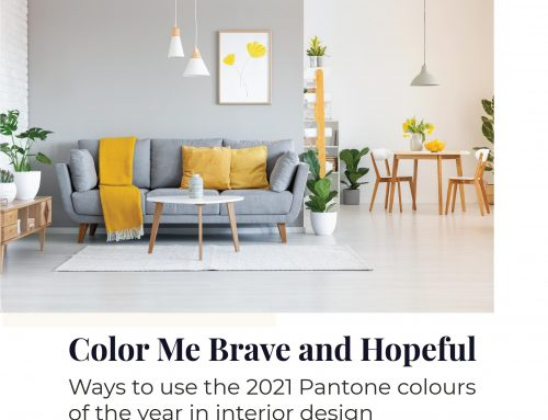 Ways to use the 2021 Pantone colors of the year in interior design