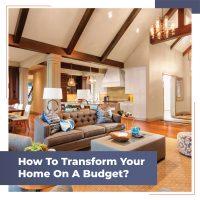 Interior design on a budget - Blog cover