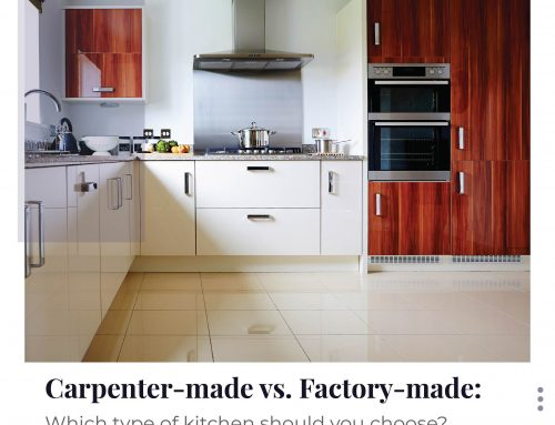 Carpenter-made vs Factory-made: Which type of kitchen should you choose?