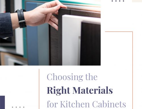 Choosing the Right Materials for Kitchen Cabinets