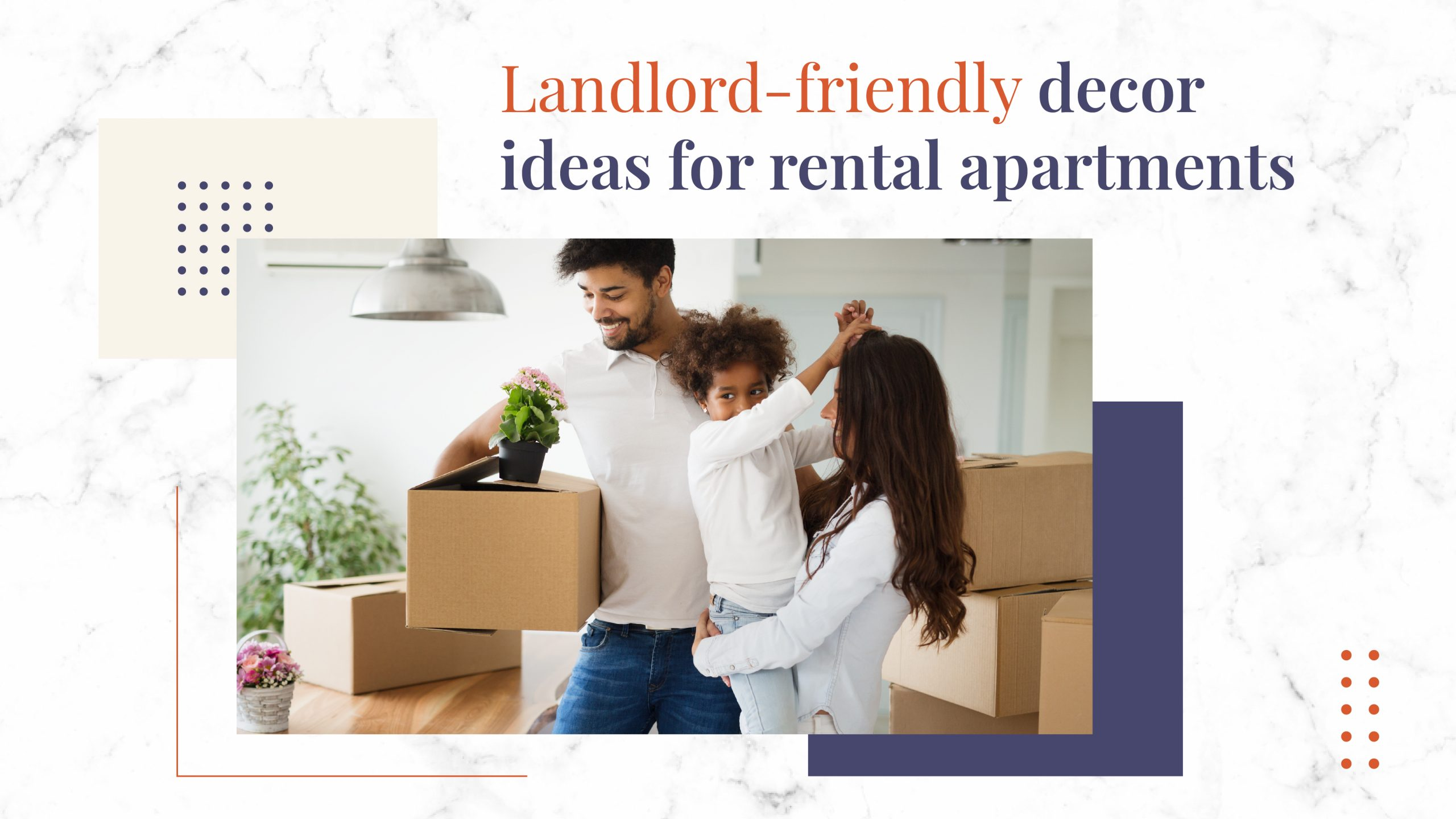 decor ideas for rental properties - FB Cover