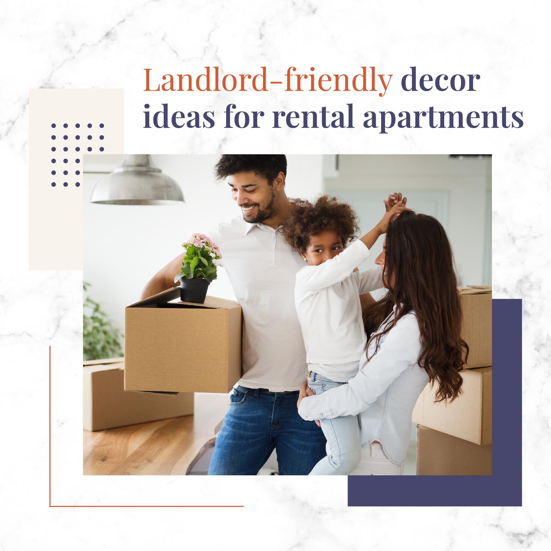 decor ideas for rental apartments