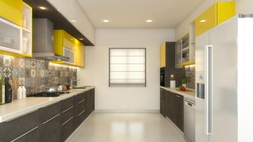 Parallel Kitchen option 5